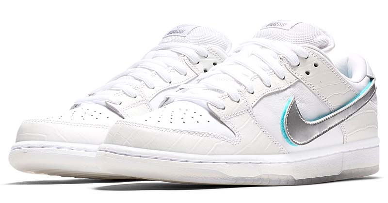 NIKE DUNK LOW PRO SB DIAMOND SUPPLY CO BV1310-100