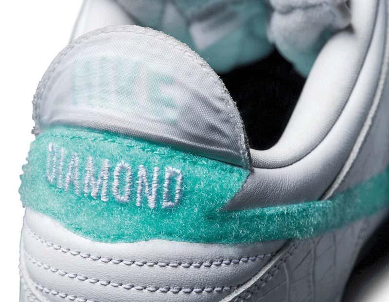 NIKE DUNK LOW PRO SB DIAMOND SUPPLY CO TIFFANY WHITE [WHITE / CHROME / WHITE / TROPICAL TWIST] bv1310-100 ナイキ ダンク ロー プロ SB ダイヤモンド・サプライ・カンパニー ティファニーホワイト 「ホワイト」