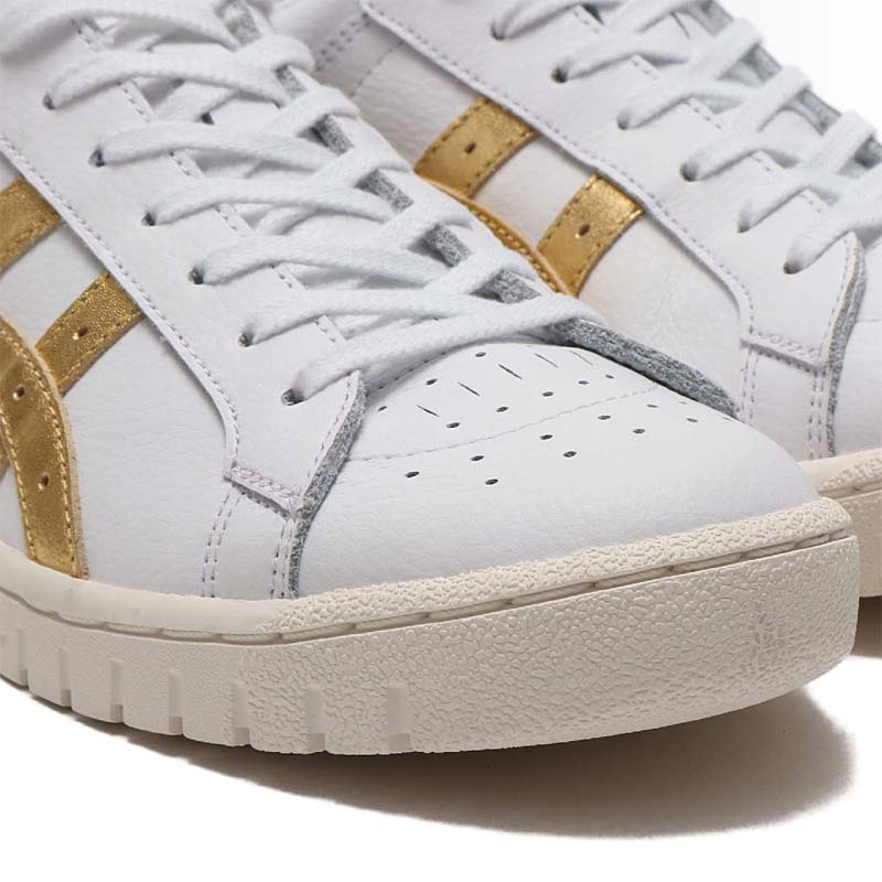 ASICSTIGER GEL-PTG WHITE / RICH GOLD 1191a280-100 アシックスタイガー ゲルポイントゲッター