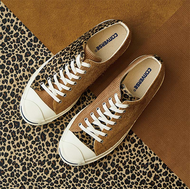 "BILLY'S x CONVERSE JACK PURCELL ""BLEND"" BROWN 33300120 ビリーズ × コンバース ジャックパーセル ブレンド ブラウン"