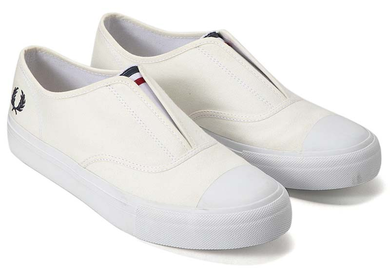 FRED PERRY CANVAS SLIP-ON f29642-10