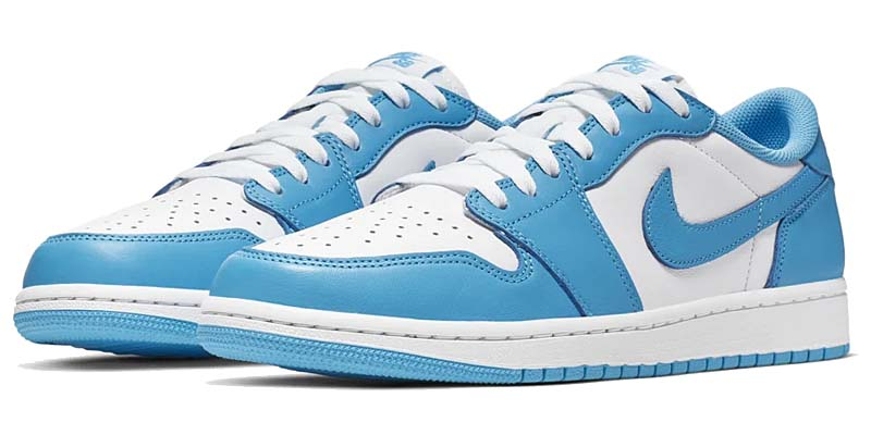 NIKE SB AIR JORDAN 1 LOW UNC DARK POWDER BLUE / DARK POWDER BLUE-WHITE CJ7891-401 ナイキ SB エアジョーダン1 ロー UNC ホワイト/ブルー
