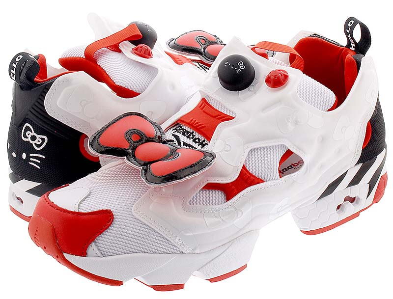"Reebok INSTAPUMP FURY OG ""HELLO KITTY"" EH2798"