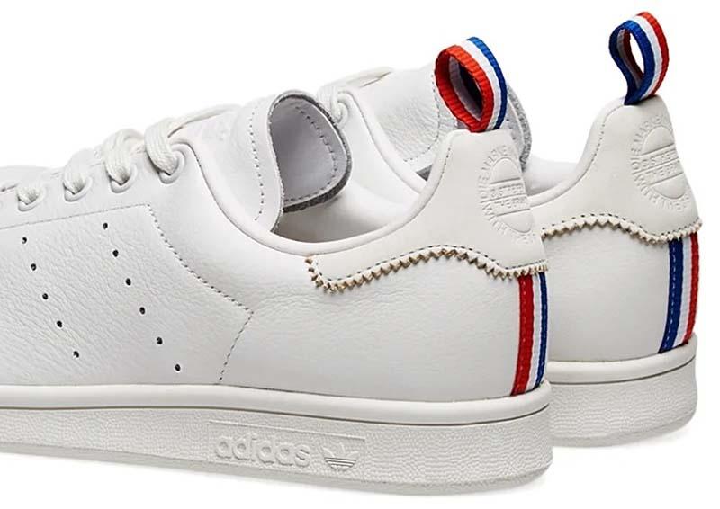 adidas Originals STAN SMITH [CRYSTAL WHITE / FTWR WHITE / SCARLET] BD7433 アディダス オリジナルス スタンスミス 「ホワイト/トリコロール」
