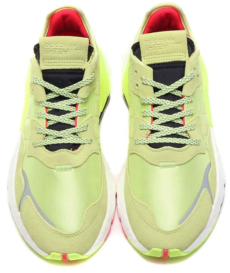 adidas Originals NITE JOGGER SEMI FLOZEN YELLOW / SEMI FLOZEN YELLOW / HI-RES YELLOW EE5911 アディダス オリジナルス ナイトジョガー イエロー