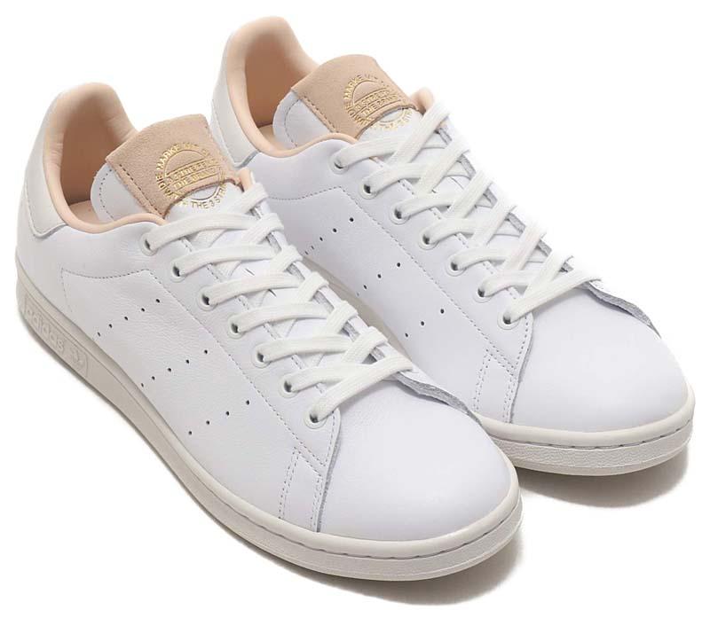 adidas Originals STAN SMITH RUNNING WHITE / RUNNING WHITE / CRYSTAL WHITE EF2099 アディダス オリジナルス スタンスミス ホワイト/ベージュ