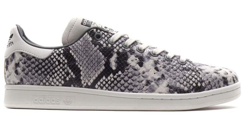adidas Originals STAN SMITH CRYSTAL WHITE / CRYSTAL WHITE / CORE BLACK EH0151 アディダス オリジナルス スタンスミス スネーク/ホワイト/ブラック