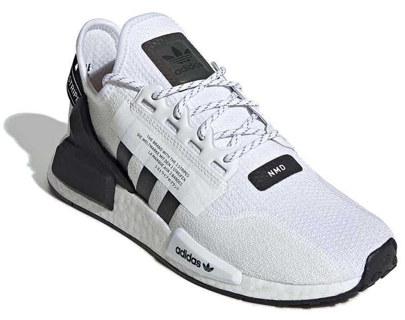 adidas Originals NMD_R1 V2 CLOUD WHITE / CORE BLACK / CLOUD WHITE FV9022 アディダス オリジナルス NMD_R1 V2 ホワイト/ブラック