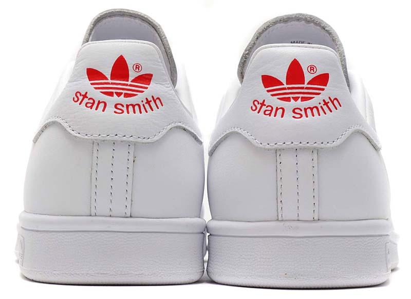 "adidas Originals STAN SMITH ""Valentine Day"" [RUNNING WHITE / ACTIVE RED / RUNNING WHITE] G27893 アディダス オリジナルス スタンスミス バレンタインデー 「ホワイト/レッド」"