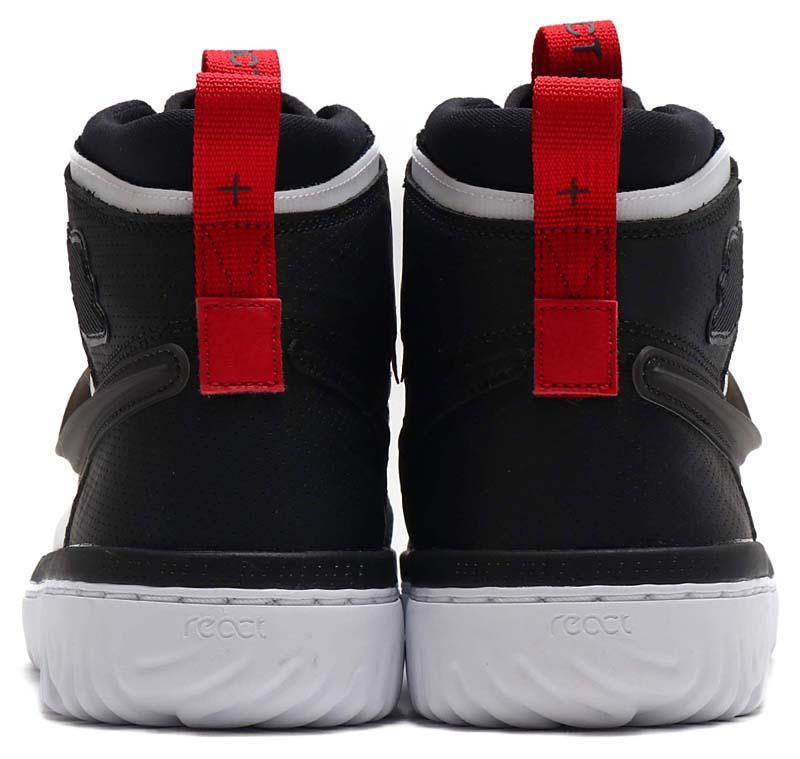 NIKE AIR JORDAN 1 HIGH REACT BLACK / BLACK-WHITE-GYM RED AR5321-016 ナイキ エアジョーダン1 ハイ リアクト 「ブラック/ホワイト/レッド」