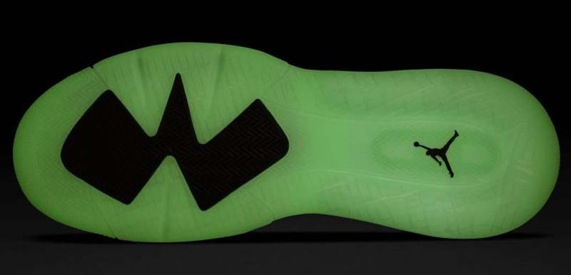 "NIKE JORDAN MARS 270 ""Green Glow"" BLACK / REFLECT SILVER / GREEN GLOW CD7070-003 ナイキ エアジョーダン マーズ 270 グリーン・グロー 「ブラック/グリーン」"