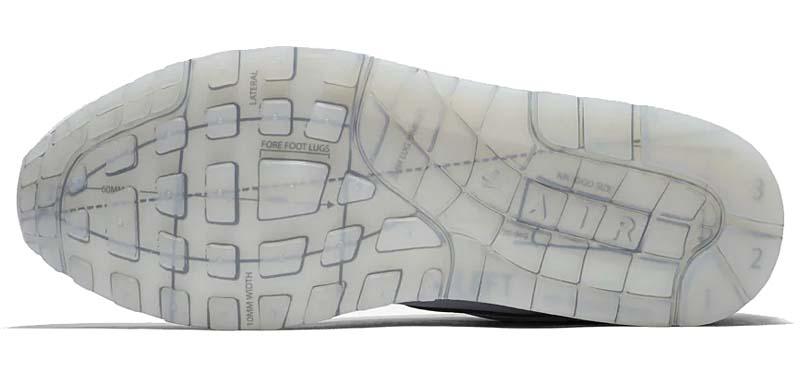 NIKE AIR MAX 1 SCHEMATIC WHITE / WHITE / BLACK CJ4286-100 ナイキ エアマックス1 スケマティック 「ホワイト/ブラック」