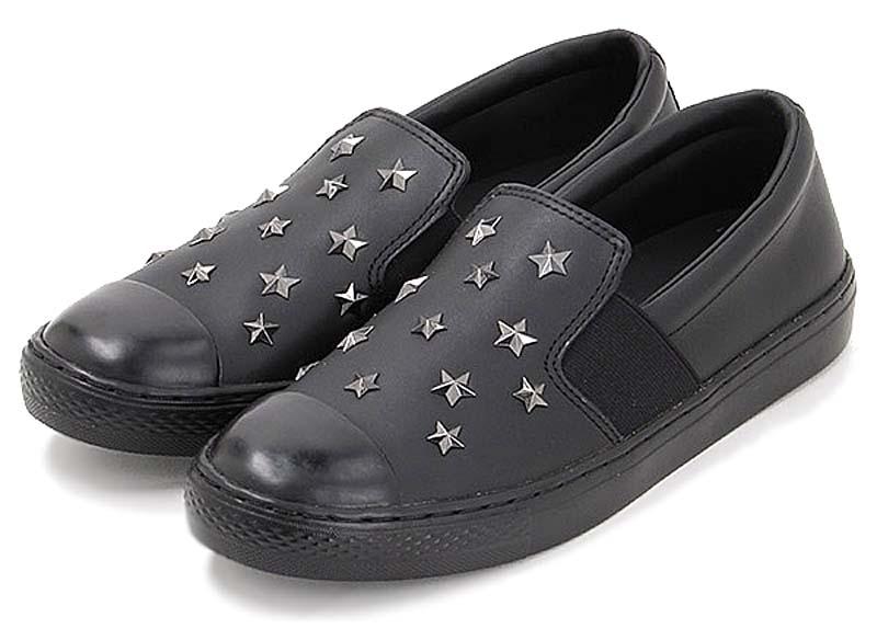 CONVERSE ALL STAR COUPE STARS SLIP-ON [WHITE] 31301751 コンバース オールスター クップ スターズ スリップオン ブラック