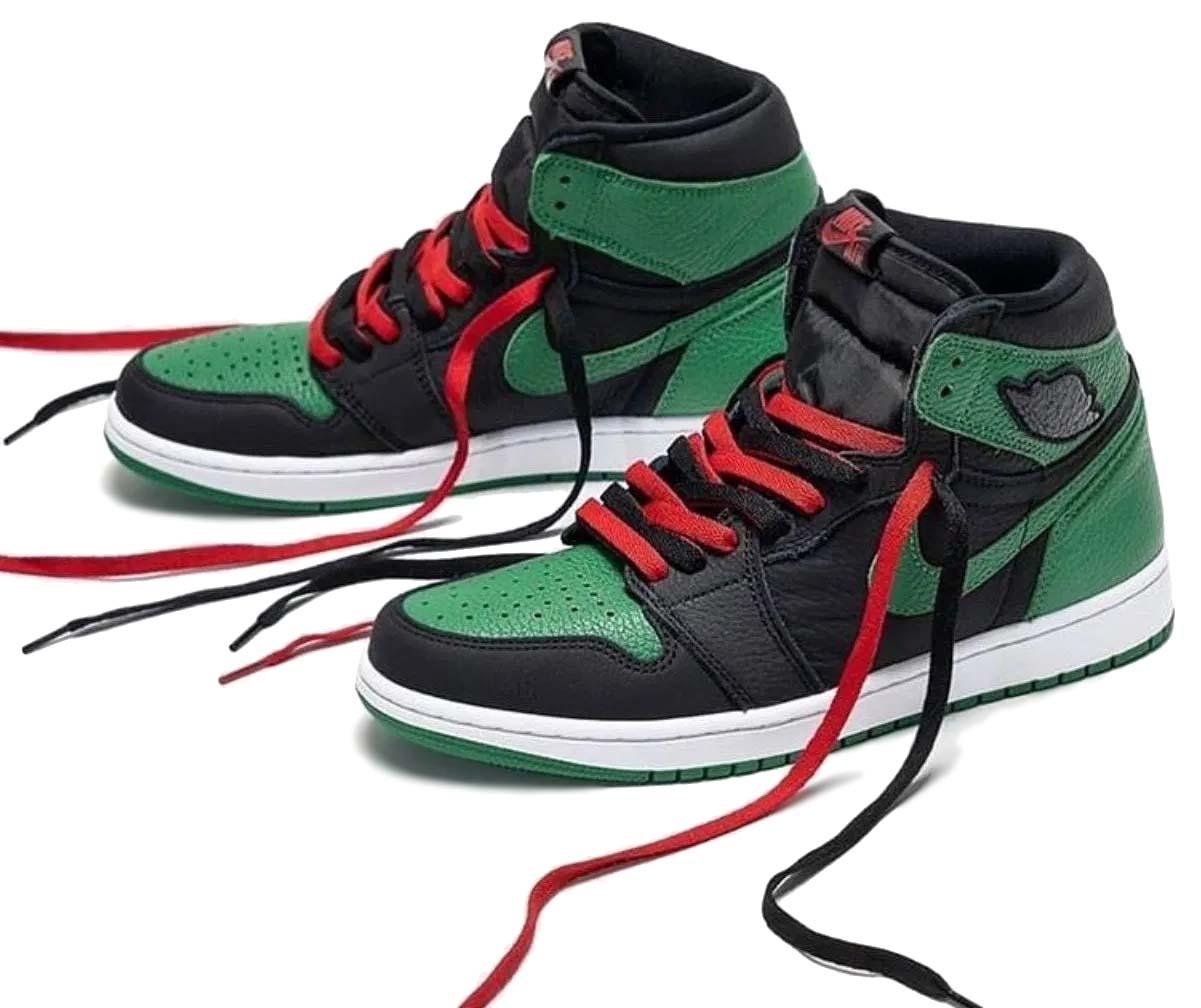 NIKE AIR JORDAN 1 HIGH BLACK / PINE GREEN-WHITE-GYM RED 555088-030 ナイキ エアジョーダン1 ハイ ブラック/グリーン/レッド