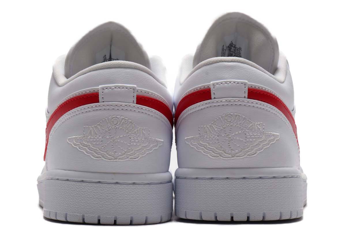 NIKE AIR JORDAN 1 LOW WHITE / UNIVERSITY RED-WHITE AO9944-161 ナイキ エアジョーダン1 ロー ホワイト/レッド