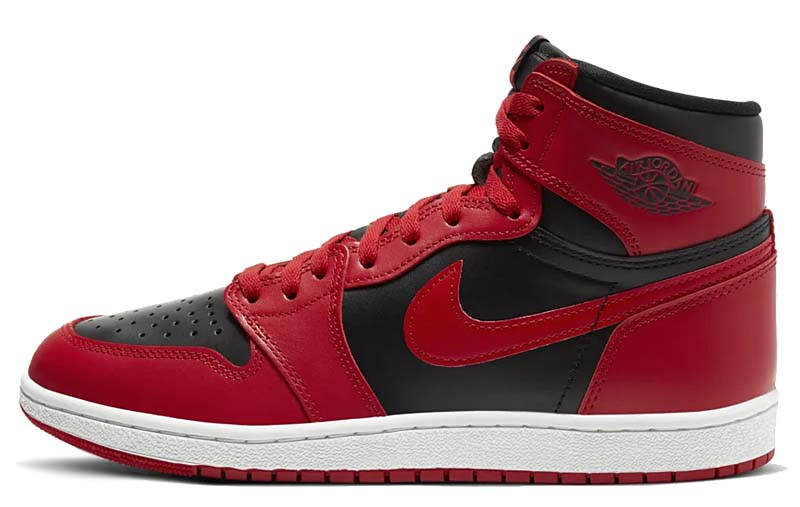 NIKE AIR JORDAN 1 HIGH 85 VARSITY RED / VARSITY RED / SUMMIT WHITE-BLACK BQ4422-600 ナイキ エアジョーダン1 ハイ 85 レッド/ブラック
