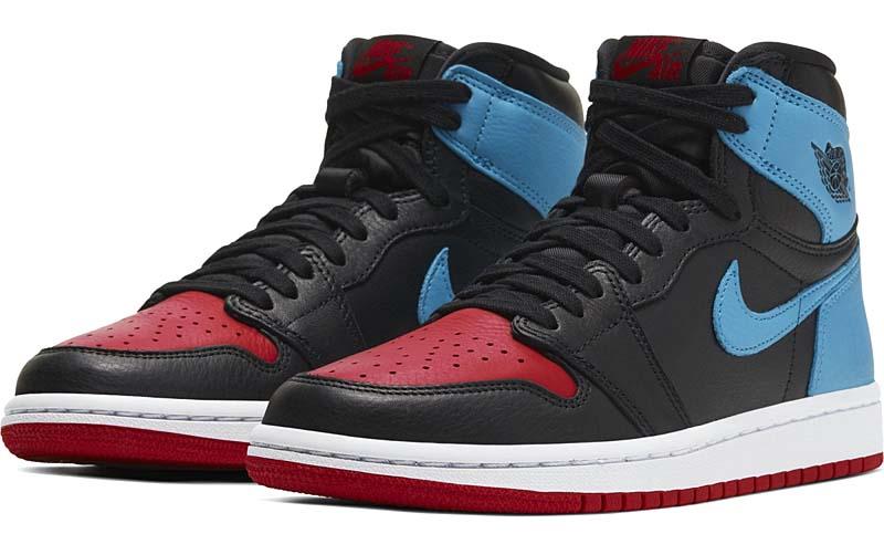 NIKE AIR JORDAN 1 HI OG UNC TO CHICAGO BLACK / DK POWDER BLUE-GYM RED CD0461-046 ナイキ エアジョーダン1 ハイ OG ノースカロライナ大学 x シカゴ ブルズ ブラック/レッド/ブルー