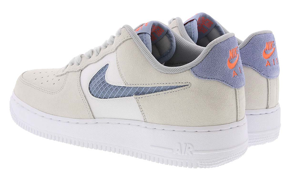 NIKE AIR FORCE 1 07 LOW PURE PLATINUM / INDIGO FOG-WHITE-HYPER CRIMSON CK4383-001 ナイキ エアフォース1 07 ロー クリーム/ブルー