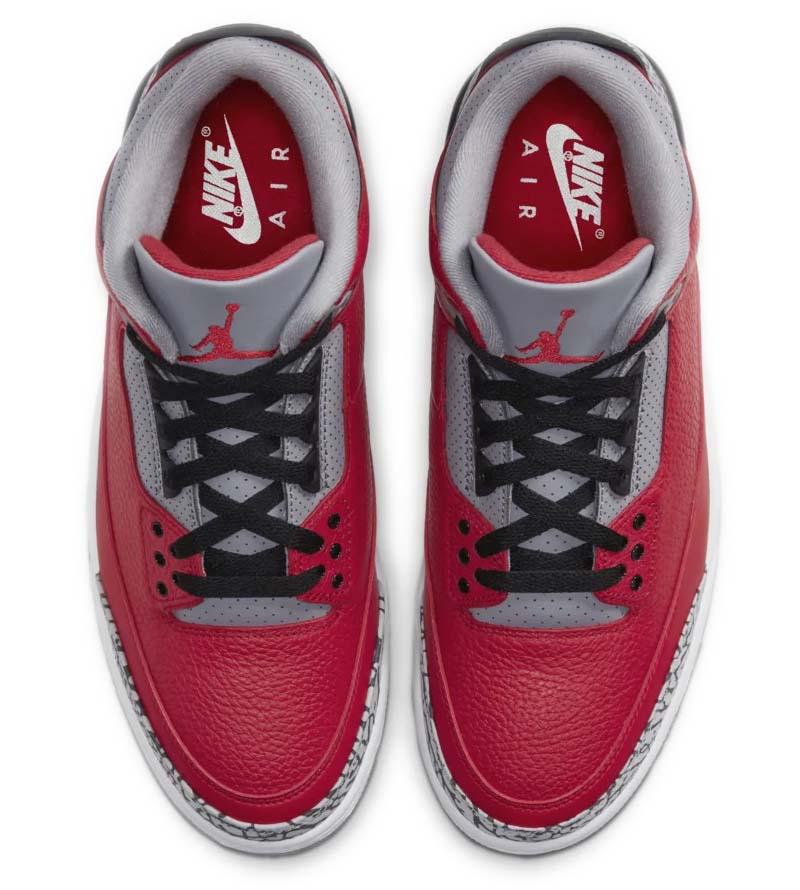 NIKE AIR JORDAN 3 SE FIRE RED / FIRE RED-CEMENT GREY-BLACK CK5692-600 ナイキ エアジョーダン3 SE レッド/セメント/ブラック