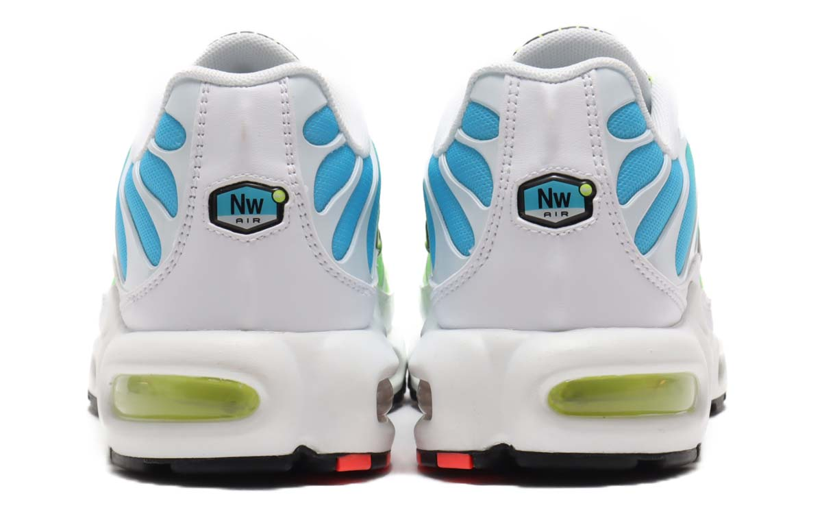 NIKE AIR MAX PLUS WW WHITE / BLACK-BLUE FURY-VOLT CK7291-100 ナイキ エアマックス プラス WW ホワイト/イエロー/ブルー