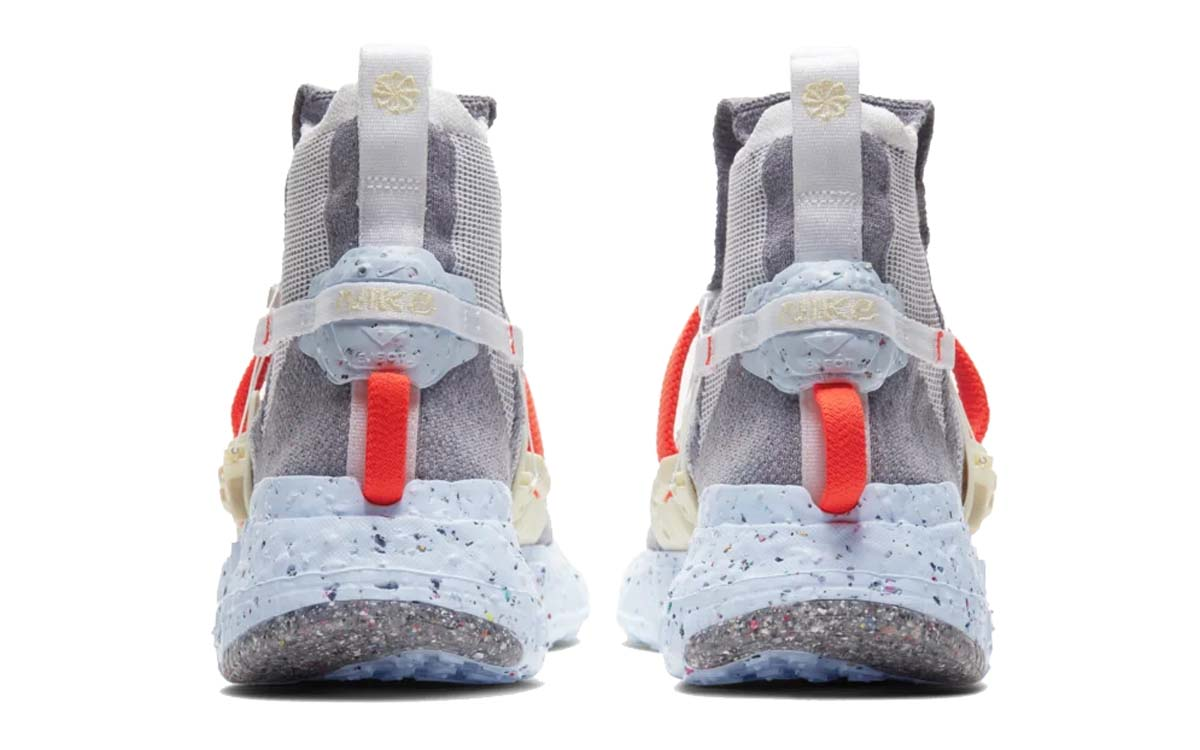NIKE SPACE HIPPIE 03 VAST GREY / HYPER CRIMSON-WHITE-ICE BLUE CQ3989-001 スペースヒッピー 03 グレー/オレンジ/ホワイト/ブルー