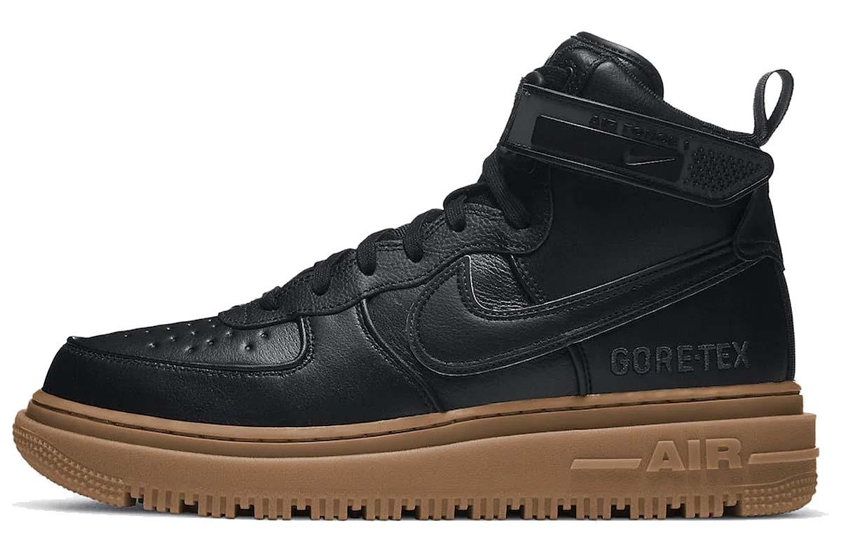 NIKE AIR FORCE 1 GORE-TEX BOOT BLACK / ANTHRACITE-GUM MEDIUM BROWN CT2815-001 ナイキ エアフォース1 ゴアテックス ブーツ ブラック/ガム