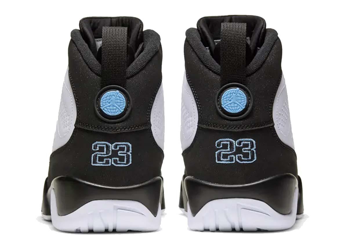 NIKE AIR JORDAN 9 RETRO University Blue WHITE / BLACK-UNIVERSITY BLUE CT8019-140 ナイキ エアジョーダン9 レトロ ホワイト/ユニバーシティブルー