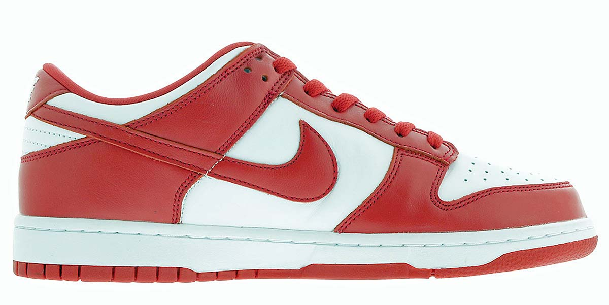NIKE DUNK LOW SP ST.JOHN'S WHITE / UNIVERSITY RED CU1727-100 ナイキ ダンク ロー セント・ジョーンズ ホワイト/レッド