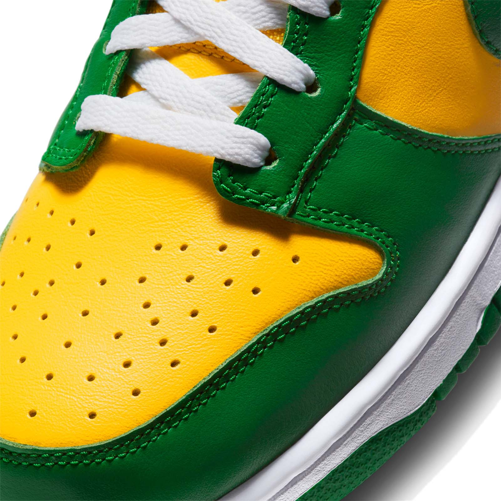 NIKE DUNK LOW SP BRAZIL VARSITY MAIZE / PINE GREEN-WHITE CU1727-700 ナイキ ダンク ロー SP ブラジル イエロー/グリーン