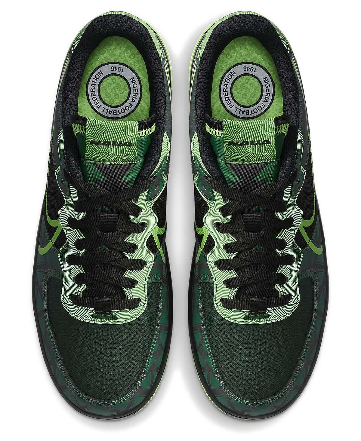 NIKE AIR FORCE 1 REACT QS NAIJA BLACK / GREEN STRIKE-PINE GREEN CW3918-001 ナイキ エアフォース1 リアクト QS ナイジェリア ブラック/グリーン
