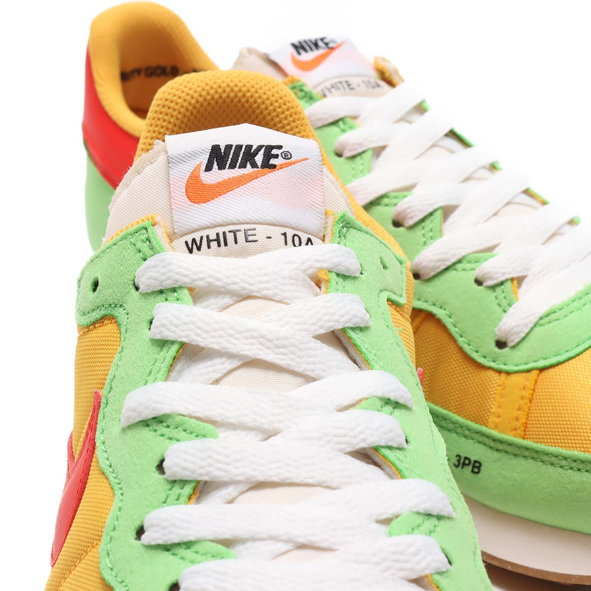 "NIKE CHALLENGER OG "" SPORTS HERITAGE PACK"" UNIVERSITY GOLD / HABANERO RED CZ9072-763 ナイキ チャレンジャー OG ゴールド/レッド"