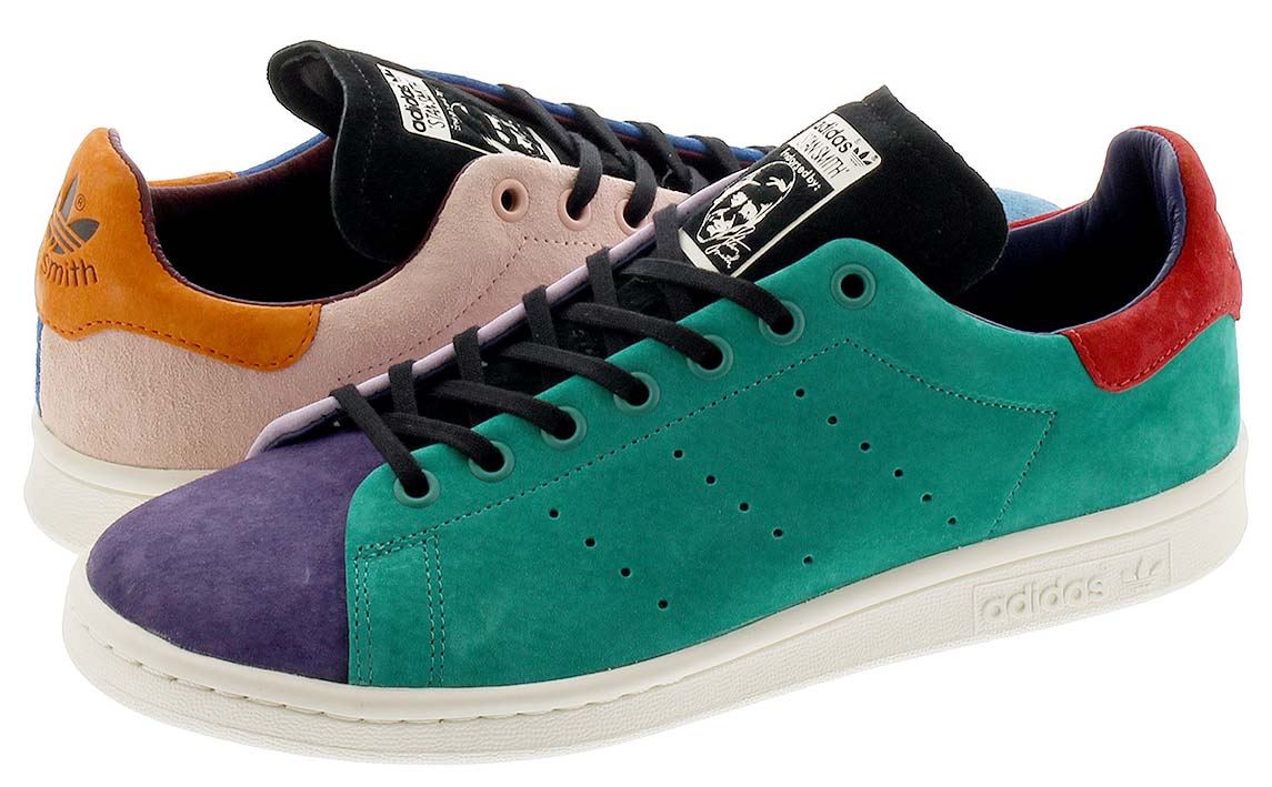 adidas STAN SMITH RECON  VAPOUR PINK / TACTILE STEEL / LUSH BLUE EF4974 アディダス スタンスミス リーコン グリーン/ピンク/ブルー/レッド/パープル
