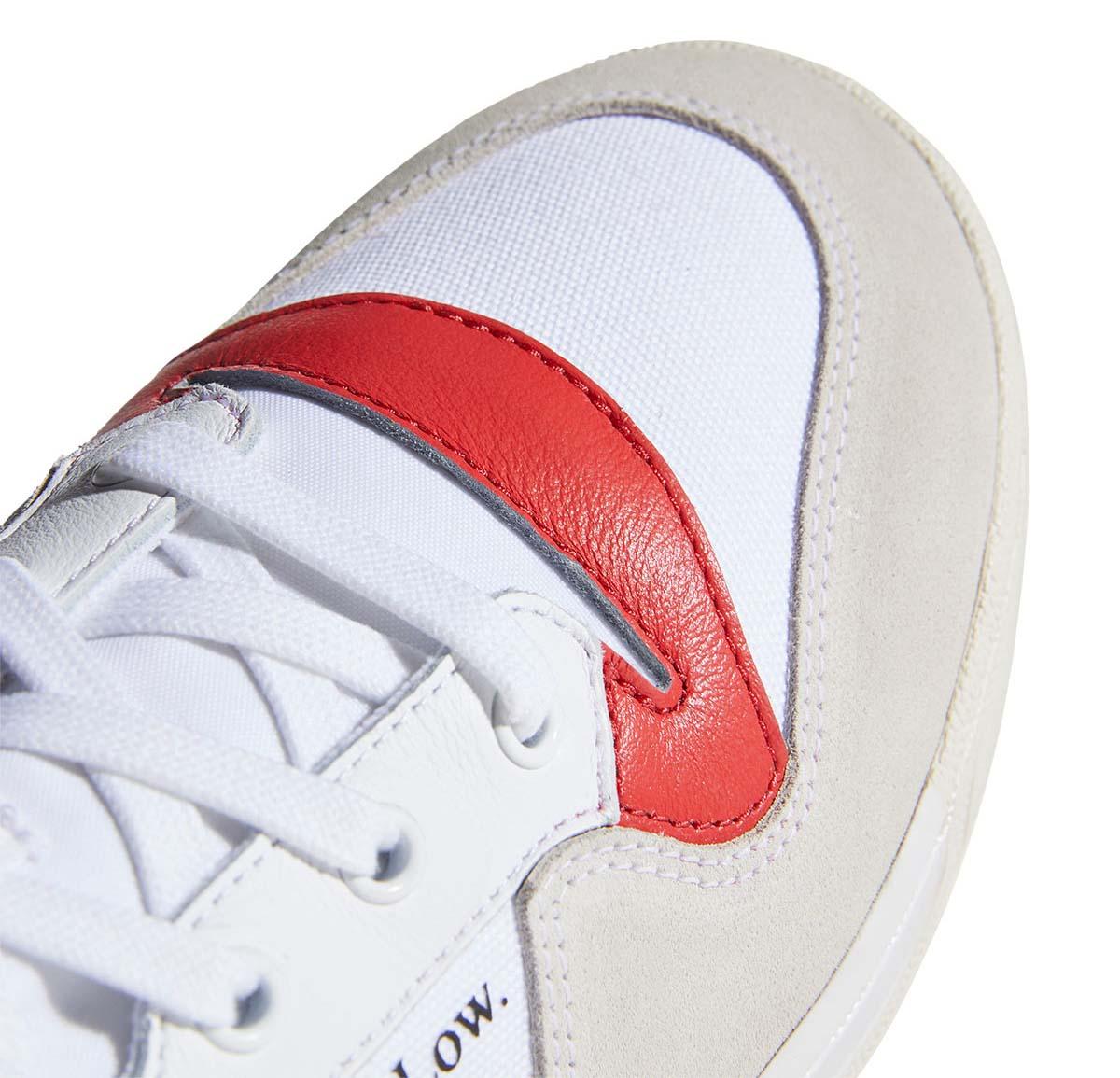 adidas RIVALRY LOW FOOTWEAR WHITE / CHORK WHITE / GLORY RED EF6418 アディダス ライバルリー ロー ホワイト/レッド/グレー