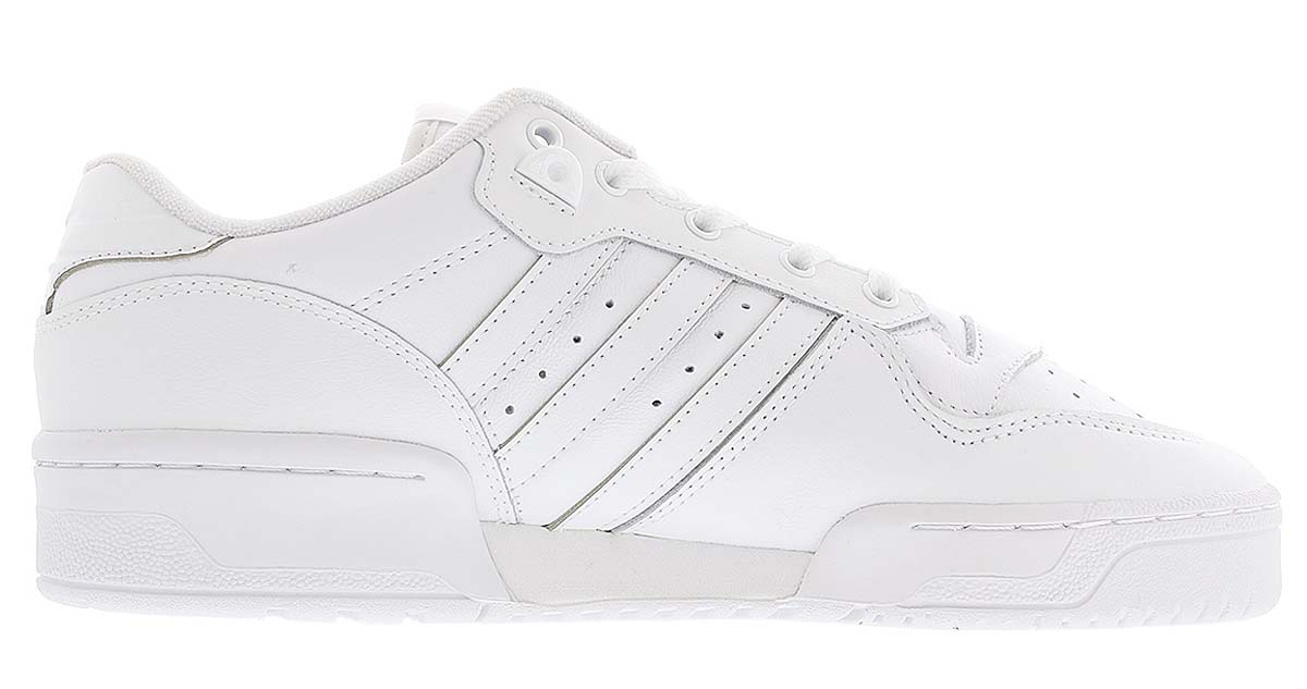 adidas RIVALRY LOW FTWR WHITE / FTWR WHITE / CORE BLACK EF8729 アディダス リバルリー ロー ホワイト