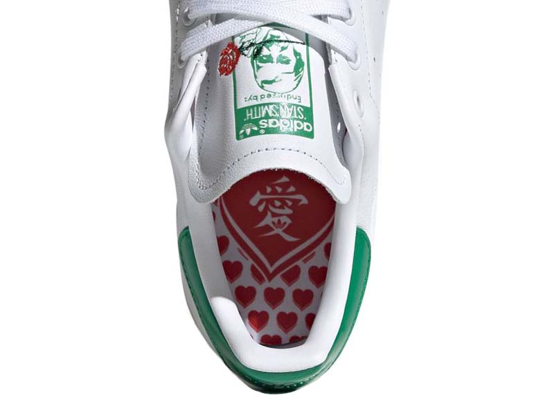 "adidas Originals STAN SMITH "" Valentine Day "" FOOTWEAR WHITE / FOOTWEAR WHITE / GREEN EH1735 アディダス オリジナルス スタンスミス バレンタインデー ホワイト/グリーン"