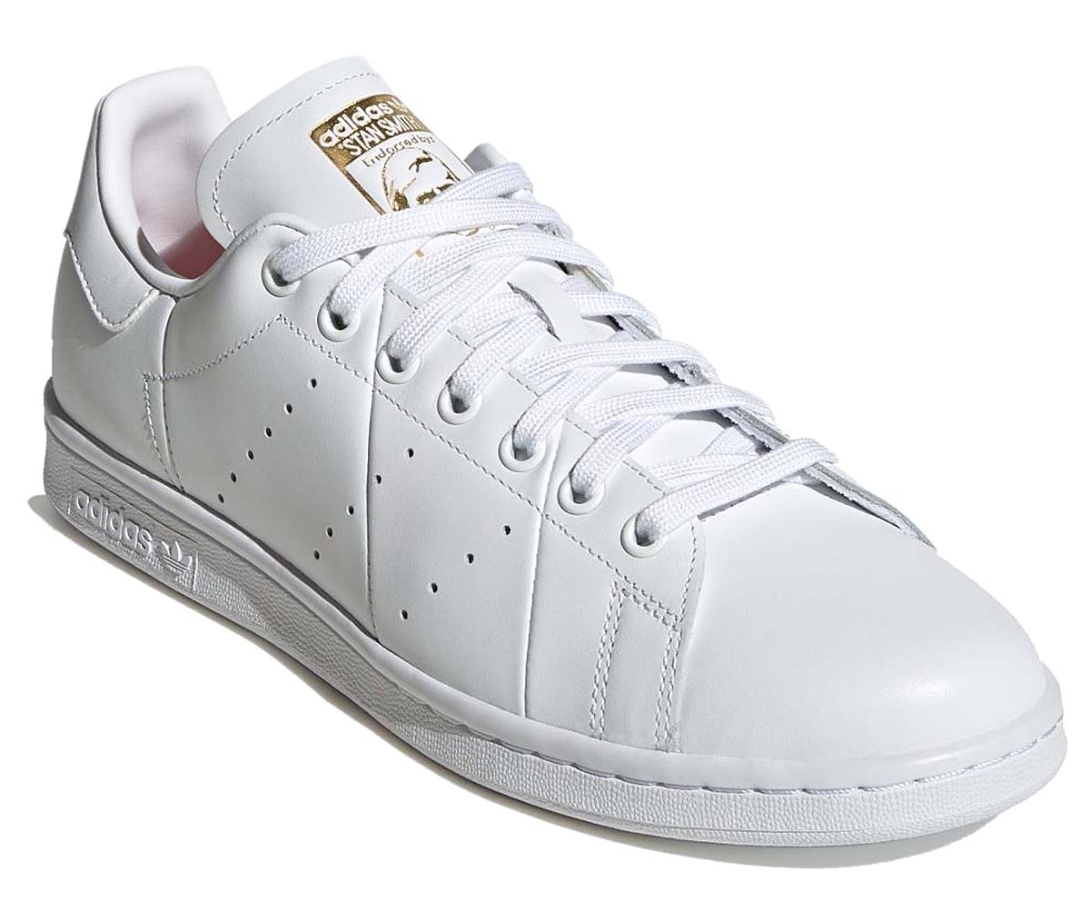 adidas Originals STAN SMITH CLOUD WHITE / CLOUD WHITE / CLOUD WHITE FU9605 アディダス オリジナルス スタンスミス ホワイト/ゴールド