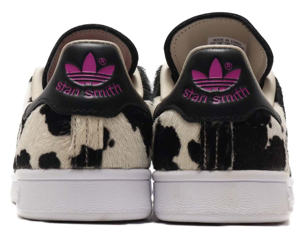 adidas STAN SMITH CORE BLACK / CLEAR BROWN / VIVID PINK FV3087 アディダス スタンスミス ブラック/ブラウン/ピンク