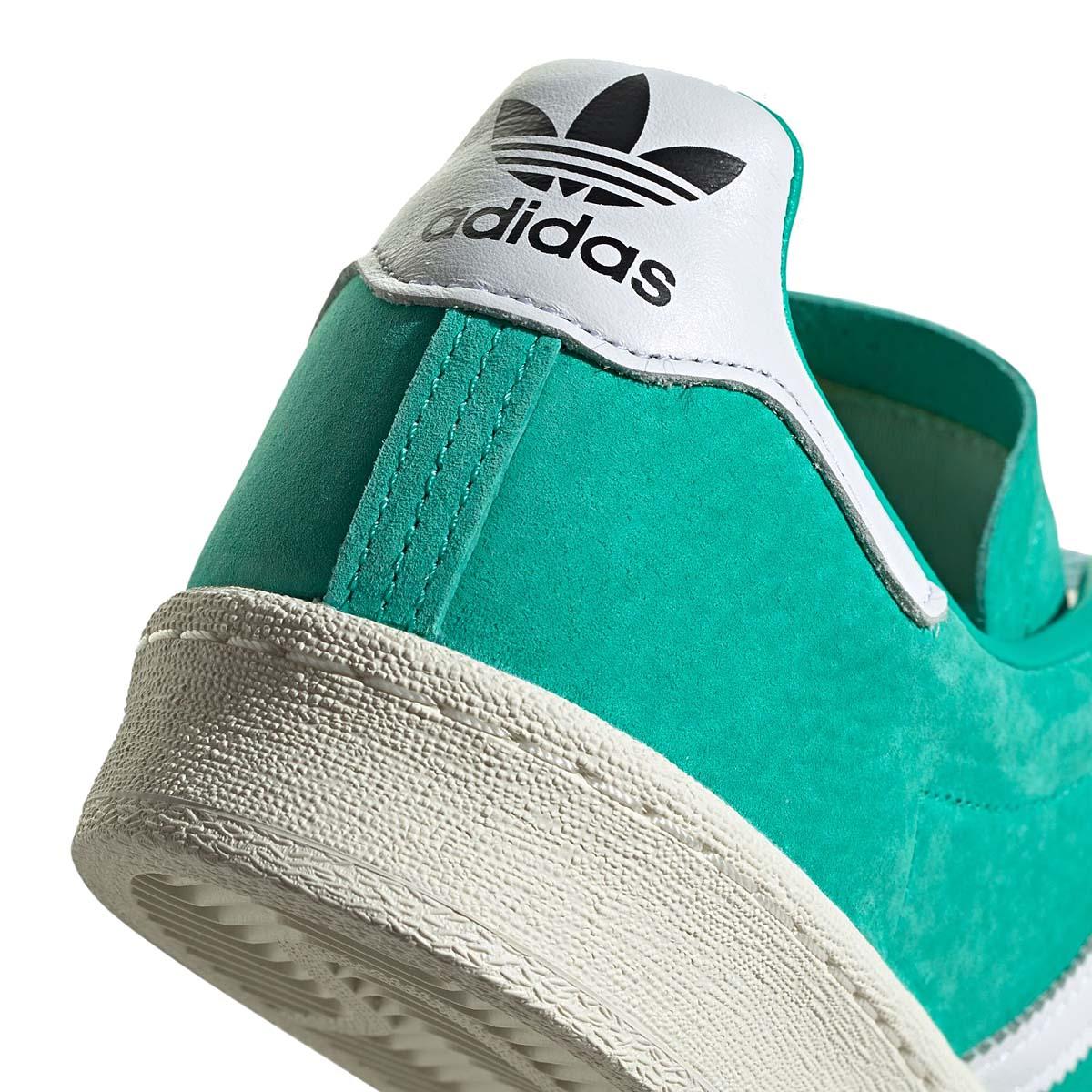 adidas Originals CAMPUS 80s SHOCK MINT / FOOTWEAR WHITE / CORE BLACK FV8495 アディダス オリジナルス キャンパス 80s ミントグリーン/ホワイト