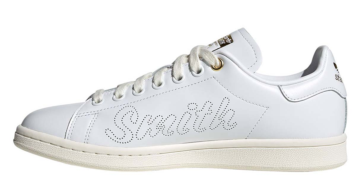 adidas STAN SMITH OFF WHITE / FOOTWEAR WHITE / WHITEGOLD METARIC FW2591 アディダス スタンスミス ホワイト/ゴールド