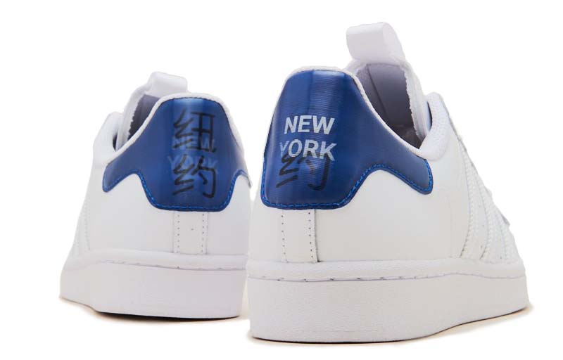 "adidas Originals SUPERSTAR "" NYC "" FOOTWEAR WHITE / COLLEGE ROYAL / CORE BLACK FW2803 アディダス オリジナルス スーパースター ニューヨーク ホワイト/ネイビー"