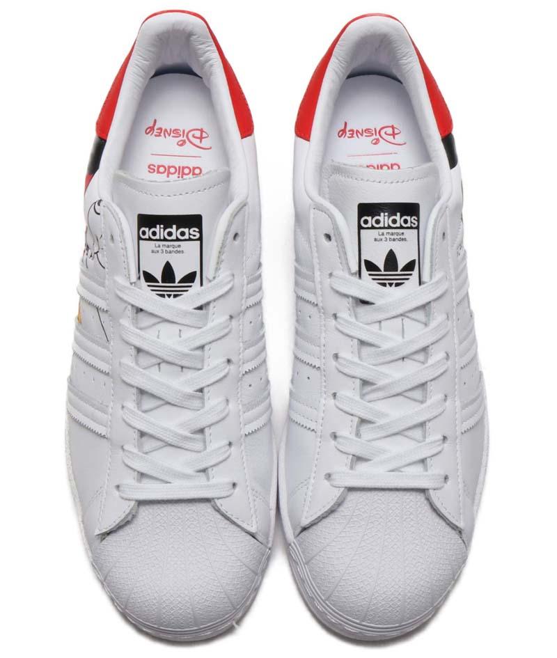 "adidas SUPERSTAR "" Mickey Mouse "" FOOTWEAR WHITE / FOOTWEAR WHITE / CORE BLACK FW2901 アディダス スーパースター ミッキーマウス ホワイト/ブラック/レッド"