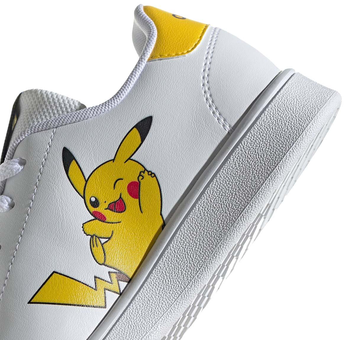 adidas ADVANTAGE  Pokémon Pikachu CLOUD WHITE / EQT YELLOW / CLOUD WHITE FW3187 アディダス アドバンテージ ポケモン ピカチュー ホワイト/イエロー