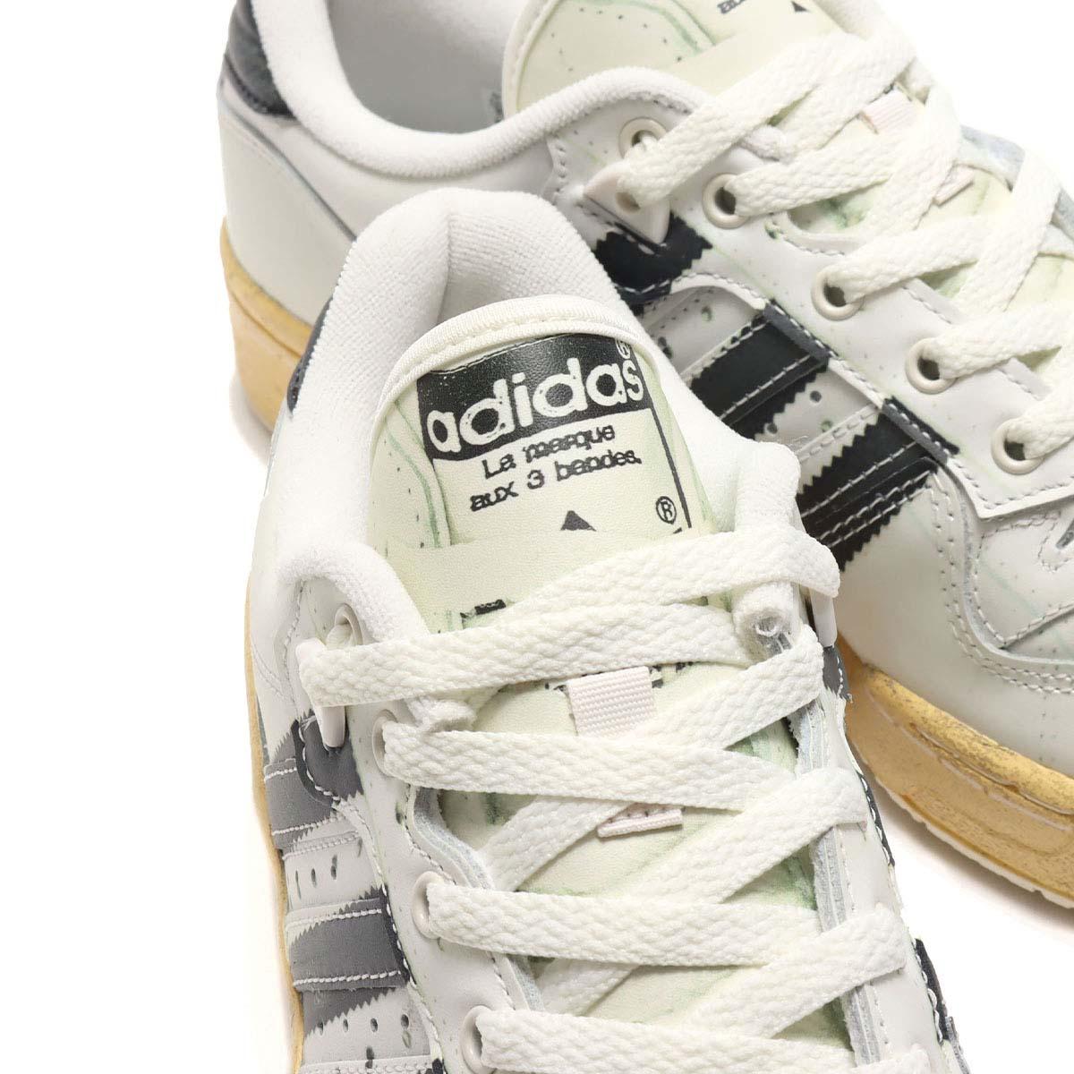 adidas RIVALRY LO / SUPER RIVALRY FOOTWEAR WHITE / CORE BLACK / OFF WHITE FW6094 アディダス ライバルリー ロー / スーパーライバルリー ホワイト/ブラック