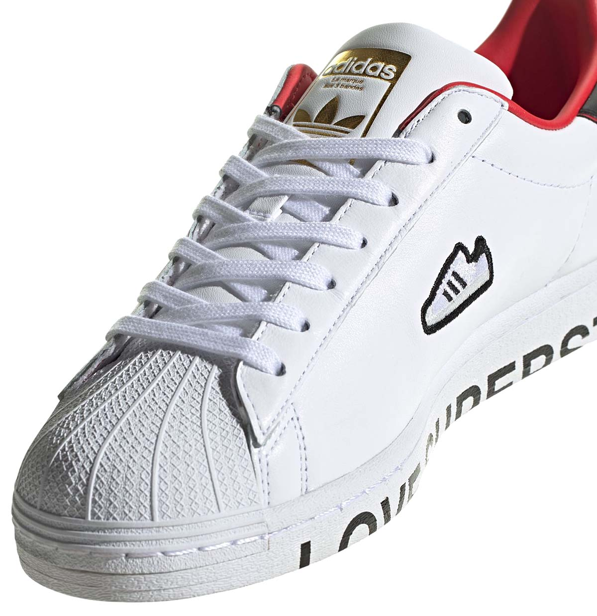 adidas SUPERSTAR FOOTWEAR WHITE / CORE BLACK / SCARLET FW6384 アディダス スーパースター ホワイト/ブラック/レッド