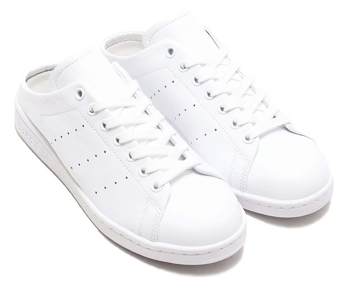 adidas STAN SMITH MULE FOOTWEAR WHITE / FOOTWEAR WHITE / FOOTWEAR WHITE FX0532 アディダス スタンスミス ミュール ホワイト