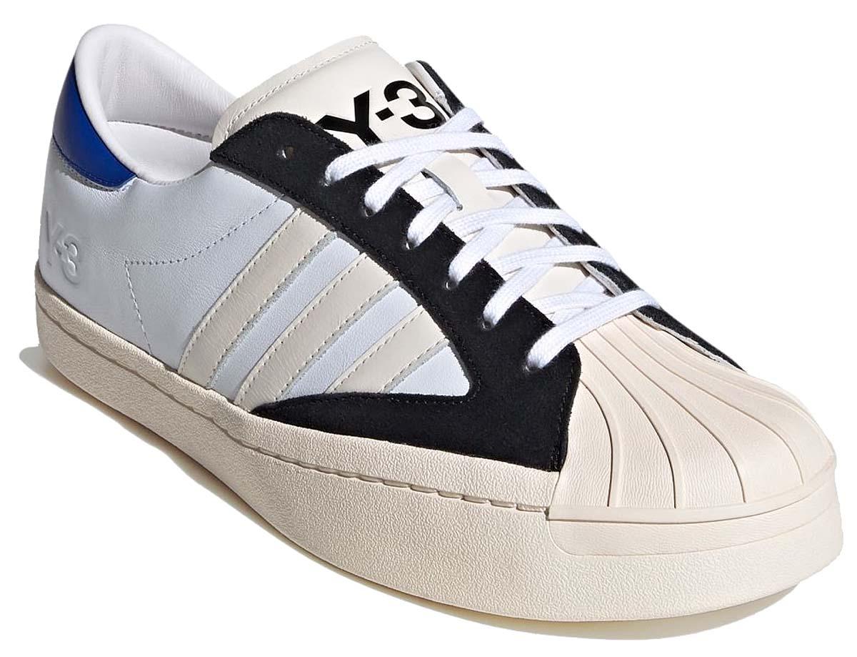 adidas Y-3 YOHJI STAR FTWRWHITE / CHALWHITE / BLUE FX0895 アディダス Y-3 ヨージスター ホワイト/ブルー/ブラック