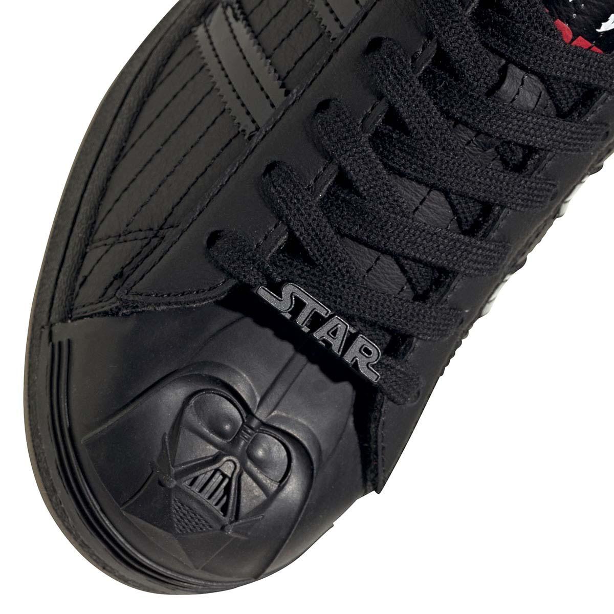 STARWARS x adidas SUPERSTAR DARTH VADER CORE BLACK / CORE BLACK / SCARLET FX9302 スターウォーズ × アディダス スーパースター ダース・ベイダー ブラック/レッド