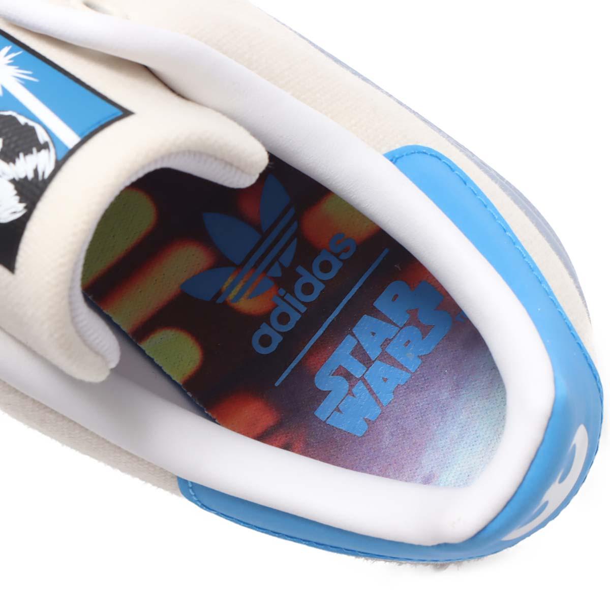 adidas STAN SMITH STAR WARS / LUKE SKYWALKER CHALK WHITE / FTWR WHITE / BRIGHT BLUE FX9306 アディダス スタンスミス スター・ウォーズ ルーク・スカイウォーカー ホワイト/ブルー