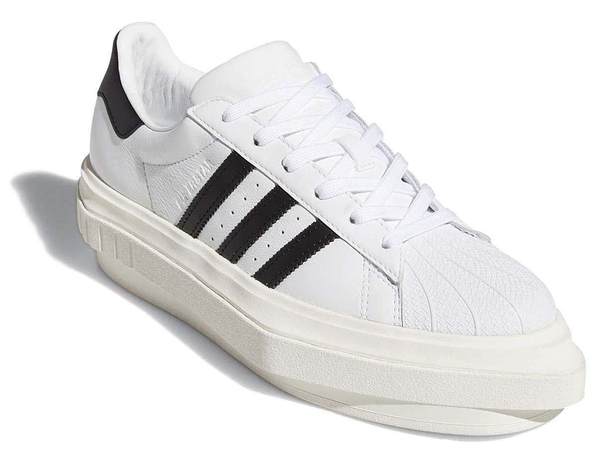 BEYONCE x adidas Originals SUPERSTAR PLATFORM CLOUD WHITE / CORE BLACK / OFF WHITE FY7730 ビヨンセ × アディダス オリジナルス スーパースター プラットフォーム ホワイト/ブラック/オフホワイト