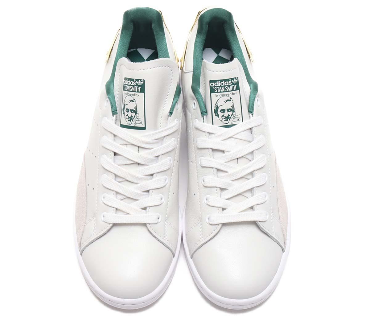 adidas STAN SMITH G FOOTWEAR WHITE / COLLEGE GREEN / GOLD METARICK FZ5395 アディダス スタンスミス ゴールド ホワイト/メタリックゴールド